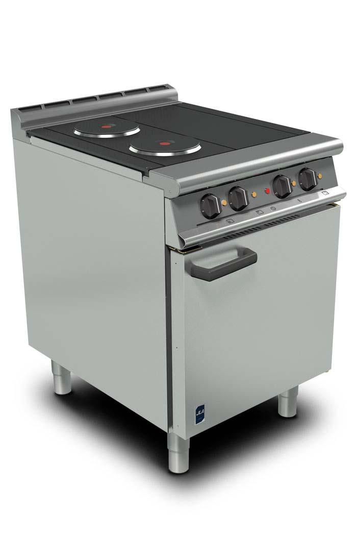 4-Burner Premium Electric Range