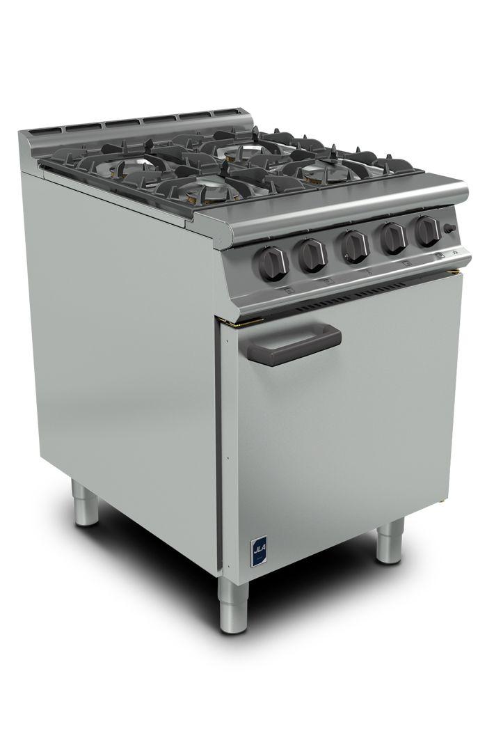 4-Burner Premium Gas Range