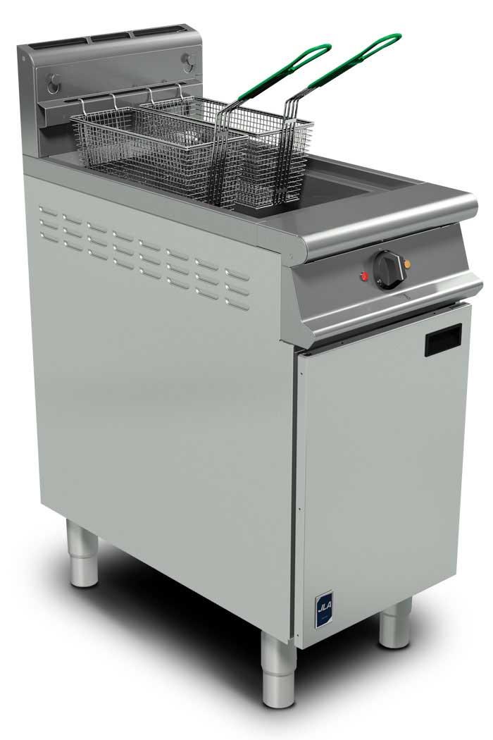 JLA Twin-Basket Floor Fryer
