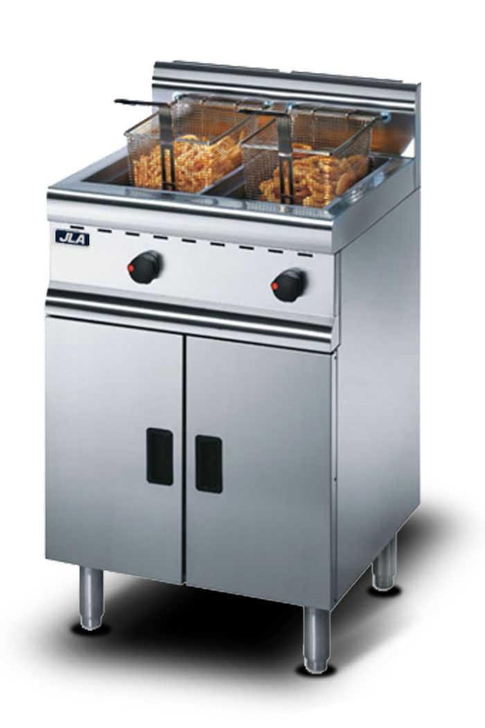 JLA Medium-Duty Twin-Tank Gas Fryer
