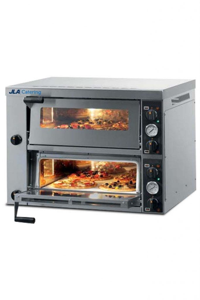8 x 12in Twin-Deck Pizza Oven
