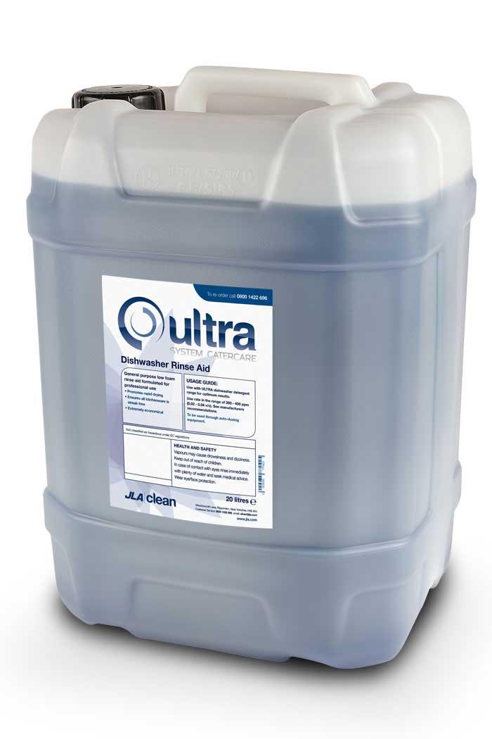 Ultra Dishwasher Rinse Aid